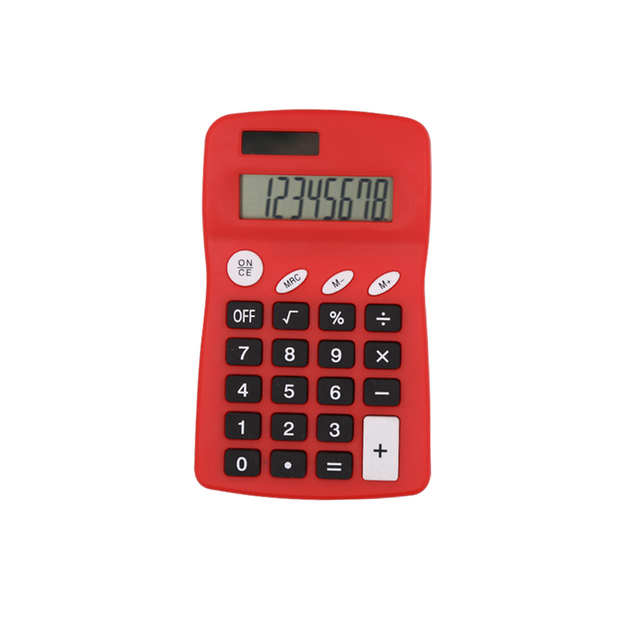 Hot Sale Best Price 8 Digits Pocket Calculator with Dual Power