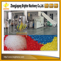 100 ~ 200 kgh High quality new desigh pp pe film plastic pelletizer granulation system