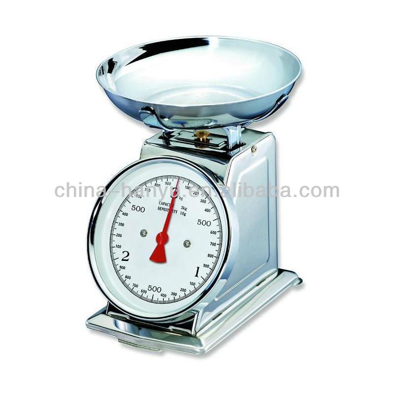 HY-SD spring kitchen scale,kitchen weight scale,stainless steel kitchen scale