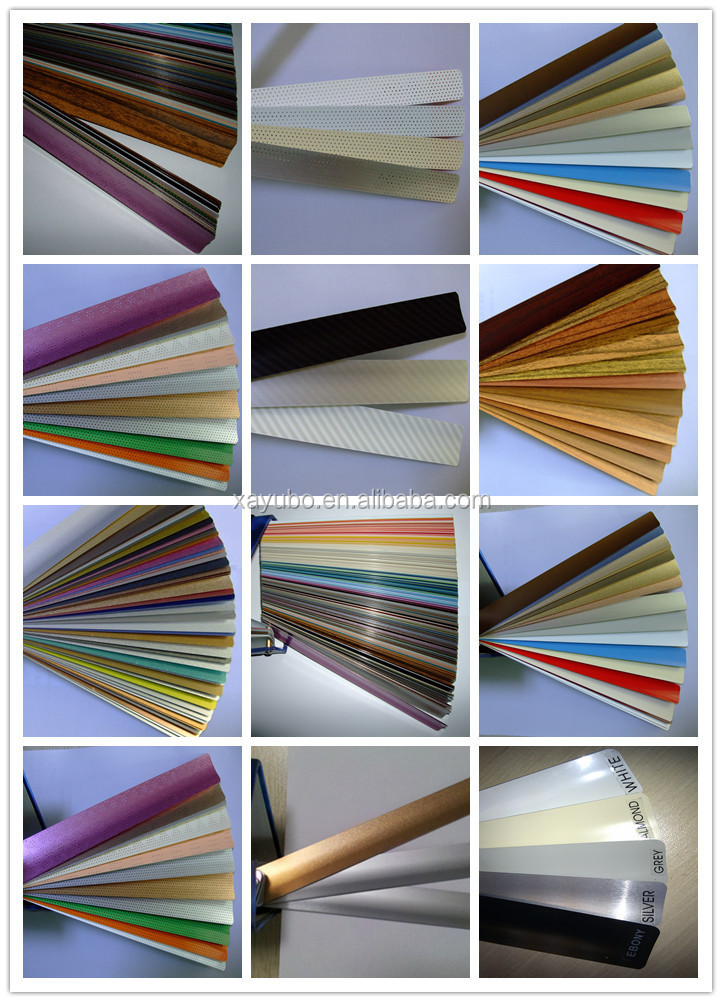 factory direct sales excellent 50mm aluminum slats for window shutter