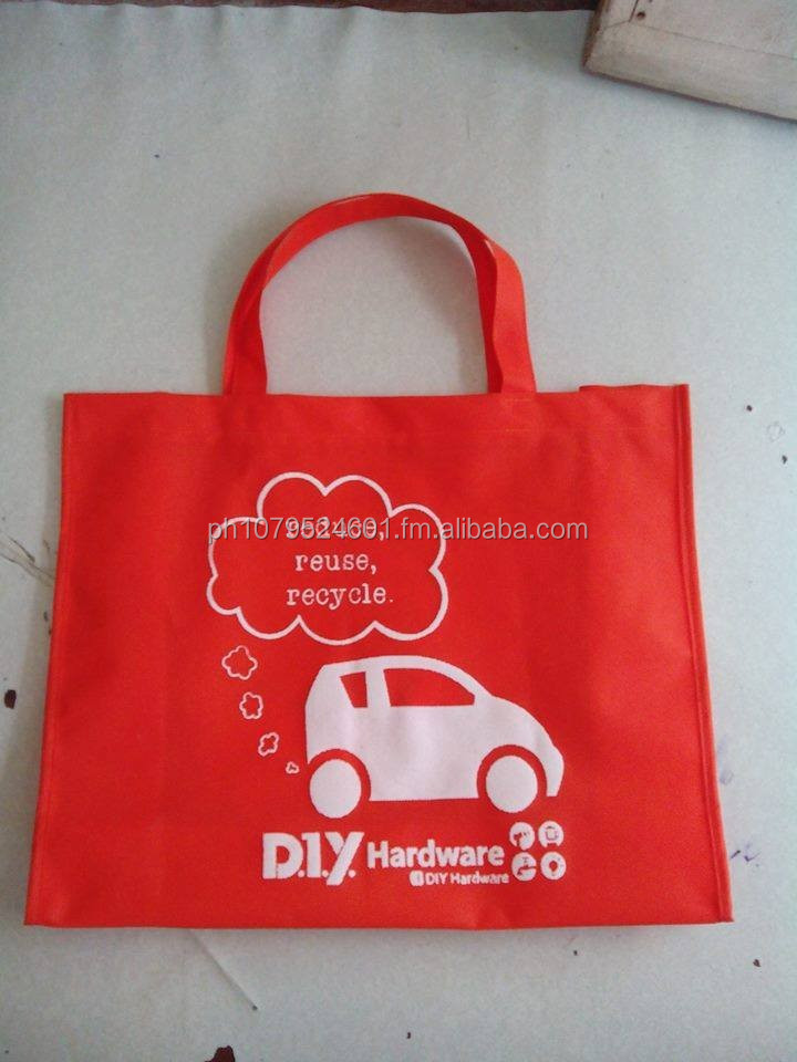 Glorious Red Eco Bag