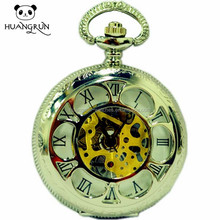Wholesale cheap alloy pocket watches with customized logo
