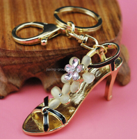 peomotional new design high quality keychain dance shoe keychain