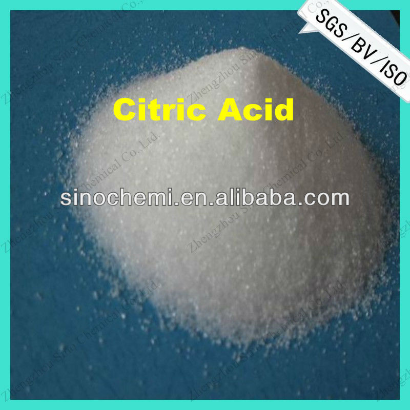HALAL Certified food grade citric acid monohydrate in natural food preservative