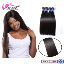 XBL Human Hair Kinky Straight Hair Weave Peruvian Virgin Hair