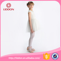 Children transparent leggings,girls white nylon pantyhose/tights