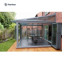 Prefab Lean To Sunroom Conservatory Greenhouse Sun Room Sunroom Glass House Aluminium