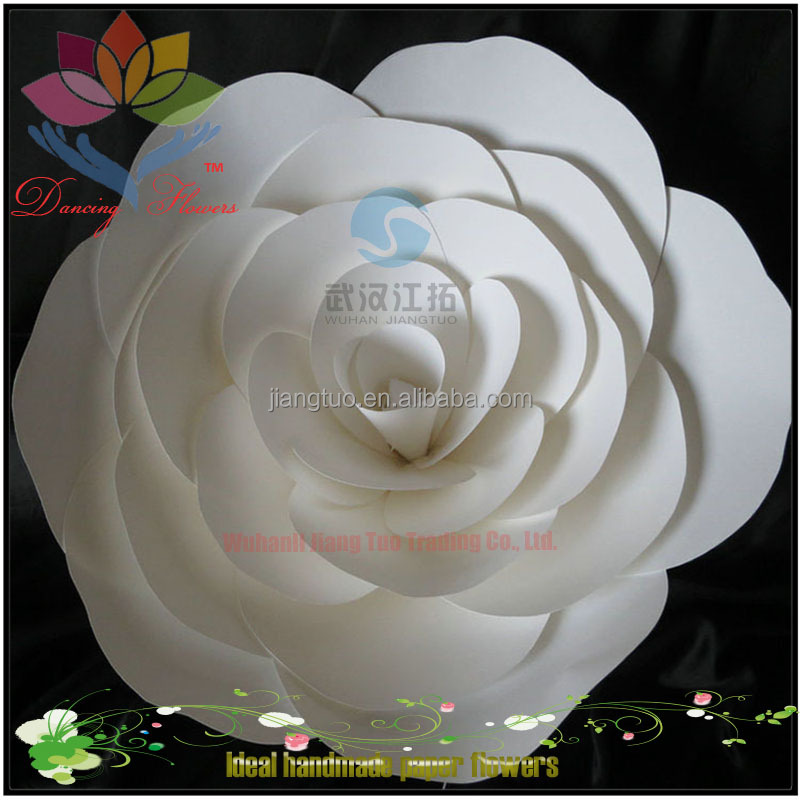 28CM Diameter Giant flower wall backdrop artificial flowers bouquets for backdrop wall