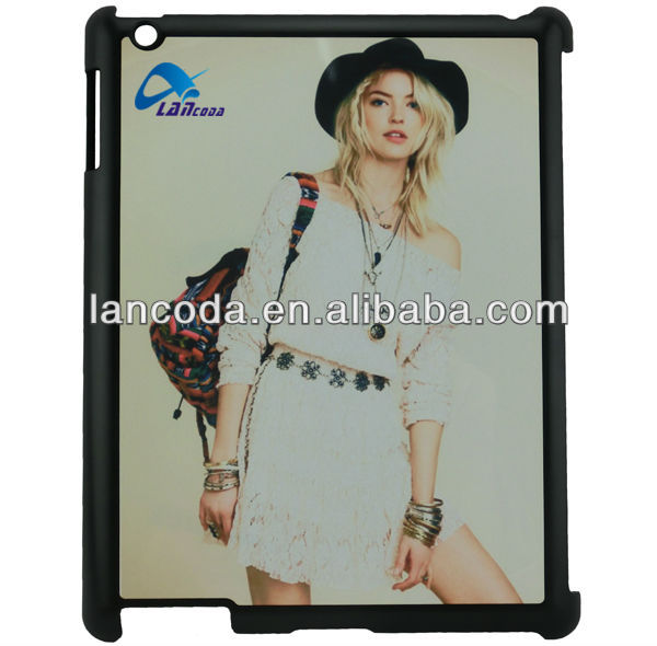 sublimation case,colors custom for ipad 2/3/4 tablet case