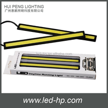 17cm 8W Super Bright hotsale cob led drl, Slim led daytime Running Light
