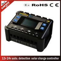 12v 24v 40A solar PV controller,solar charge controller with LCD display