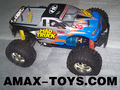 et-38512 henglong 4wd rc car 1:10 scale electric powered 4wd Monster truck(2 channel) - ready to run
