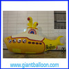 PVC Inflatable Yellow Submarine