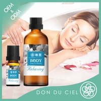 Taiwan natural orchid full body relaxing massage essence oils