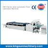 Semi-Automatic Flute Laminating Machine for Sale for Paper and Board