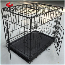 Large Collapsible Metal Pet Dog Puppy Cage Crate Tray kennel