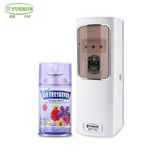 battery LCD air freshener dispenser/hotel auto 300ml aerosol spray perfume fragrance dispenser wall mounted