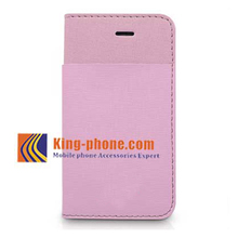 Retro Genuine Leather Case Flip Cover Business Wallet Style Phone Case For iPhone 5C