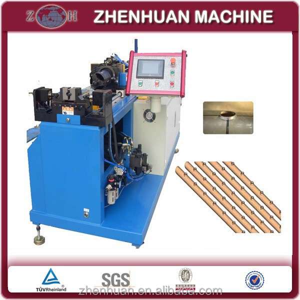 Iron tube collaring machine