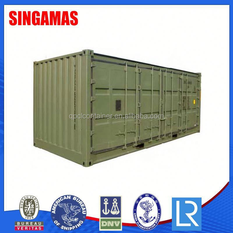 20ft Side Curtain Container