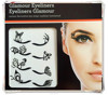 High Quality Glamour Eyelashes,Eye Shadow Peel Off Eyebrow Sticker Dec Girl Dressing
