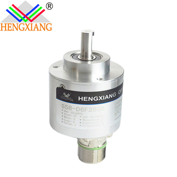 solid shaft encoder S58 rotary type of 10mm manufacturer encoder ie58a
