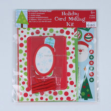 Handmade Christmas Greeting Card Making Kit