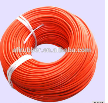 5ohm/M 220V Diameter 3mm Color Red Silicone Rubber Heating Wire