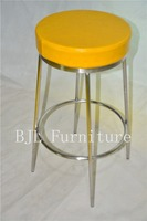 bar stool stainless steel bar chair commercial used