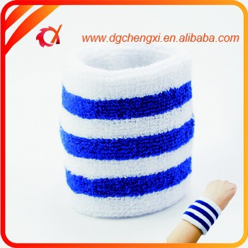 promotional cotton table tennis sweatband