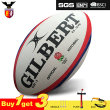 All Black GIL BERT Offical Sized Cheap Good Quality League Rugby Ball