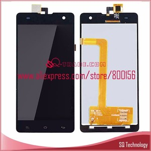 Cell phone lcd display with digitizer assembly for Myphone cube V708