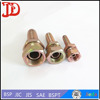 Low Price Swaged Hose Fitting ,Hydraulic Insert Pipe Nipple ,Forged Hose Joint With Hexagon End