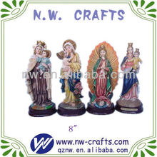 Religious statue sets resin crafts