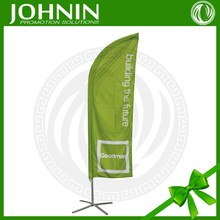 Cheap custom design Outdoor display stand teardrop banner without stand
