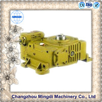 WPO Cast Iron small Worm Transmission Gearbox Parts with diesel engines lift 2 columns 220v