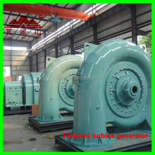 hydro turbine generator alternator 100kw brushless alternator