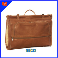 suit carrie leather garment bag garment carrier for travel