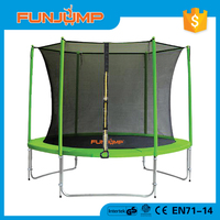 FUMJUMP 10ft Big Round outdoor trampoline with TUV GS