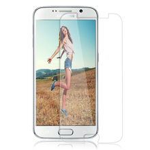 Factory Price Wholesale 2.5D 9H Hardness Tempered Glass Screen Protector For Samsung Galaxy S6