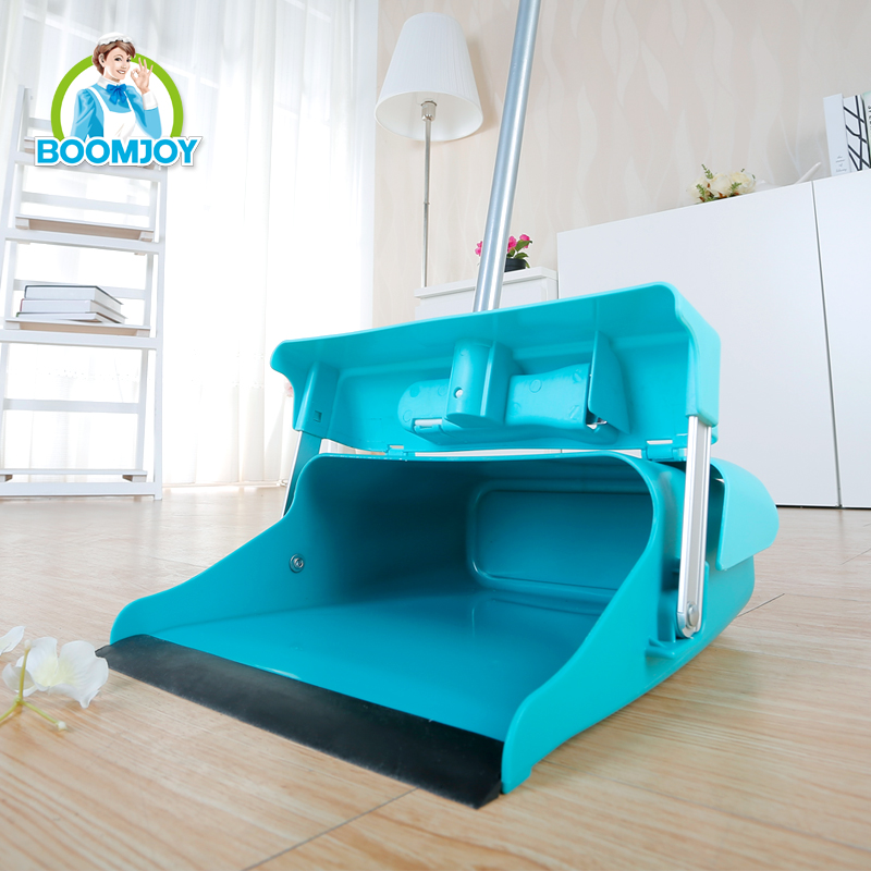 Dustpan, Windproof Design dustpan with PET broom, highest quality Dustpan and broom set for home cleaning ,