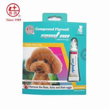 Compound Fipronil 10% spot on for dogs&cats, copy of Frontline Plus