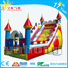 china attractive jumping princess castle inflatable slide