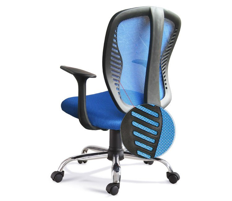 D12#Mesh plastic modern office chairs for sale