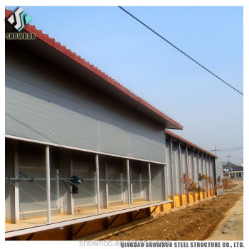Agricultural Farm Buildings Chicken Barn Prefabricated Sheds For Poultry Farm
