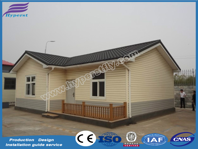 china prefabricated homes/small mobile modular homes villa/ steel frame modern prefab kit homes