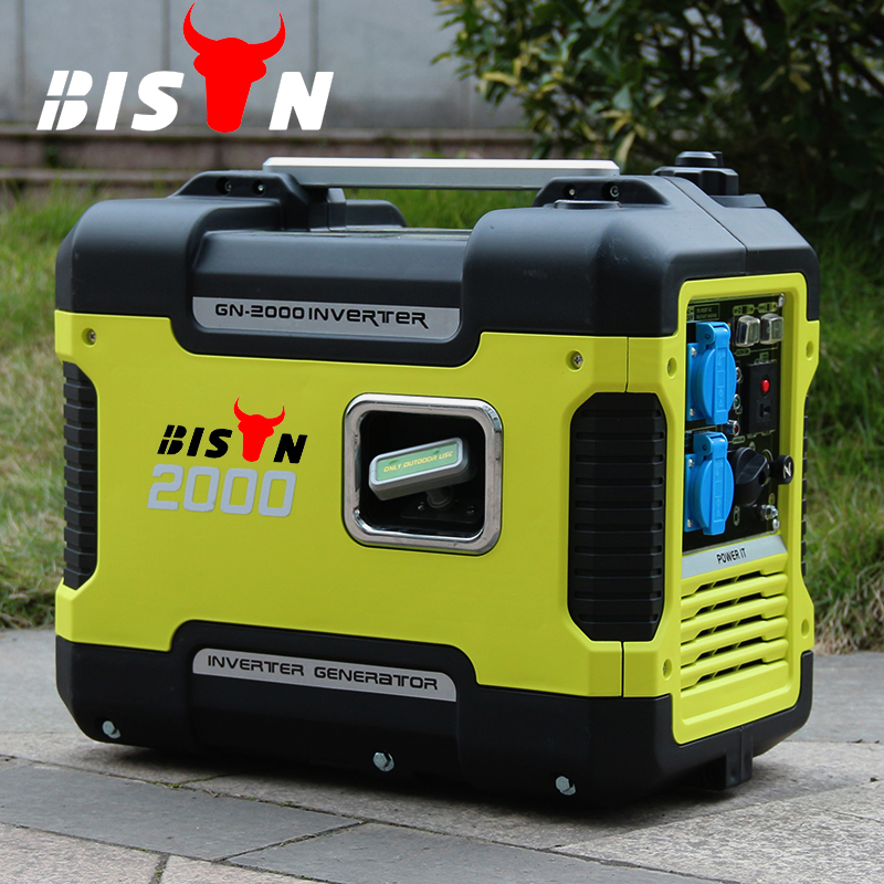 digital generator inverter, super silent 2000w Gasoline inverter generator, 220v portable pure wave inverter generator