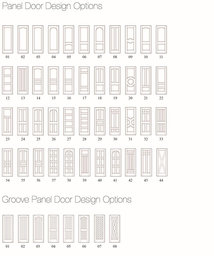 2 패널 솔리드 화이트 그린 인테리어 문, 화이트 룸 문-문 -상품 ID ...
