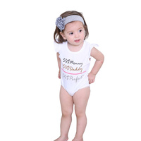 Hot Sale New Trendy Gift Romper Graphic Printing Baby Clothes Clothing Set