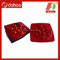 USA/E-mark/Stop/Turn/Tail/Rear reflex/Side marker/Side reflex (RH) LED tail light